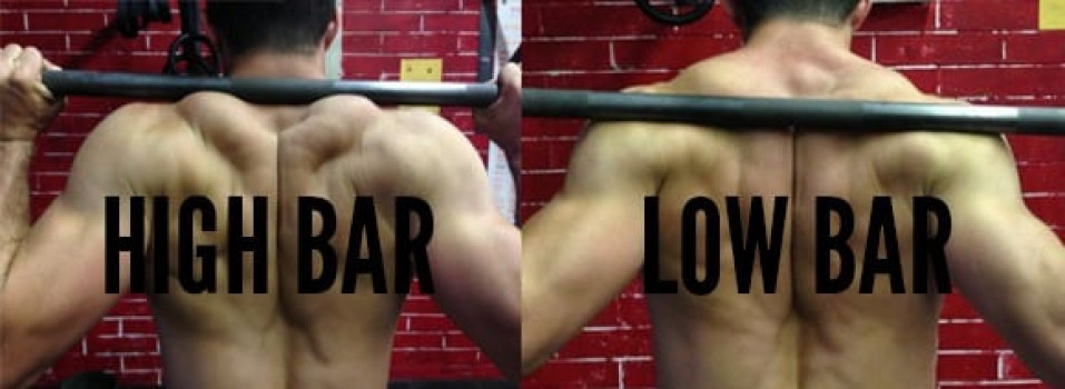 Squat High Bar & Squat Low Bar